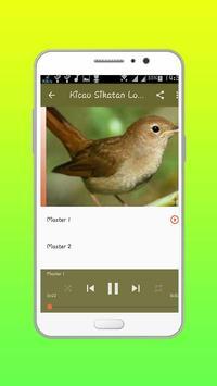 Masteran  Kicau Sikatan Londo apk screenshot