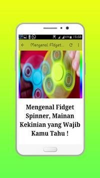 Trick Fidget Spinner Terbaru apk screenshot