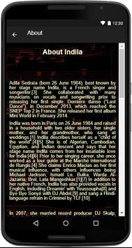 Indila - (Songs+Lyrics) screenshot 3