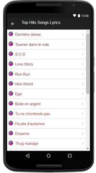 Indila - (Songs+Lyrics) screenshot 1