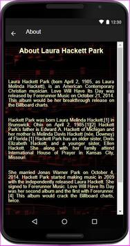 Laura Hackett Park - (Songs+Lyrics) screenshot 3