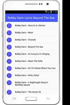 Bobby Darin Lyrics Dream Lover apk screenshot