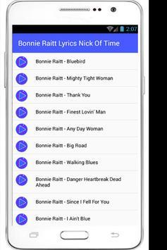 Bonnie Raitt Lyrics Come To Me apk screenshot