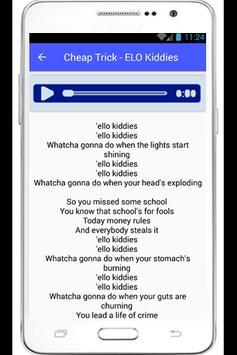 Cheap Trick Lyrics The Flame apk screenshot