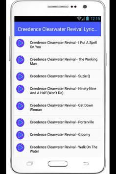 Creedence Clearwater Revival apk screenshot