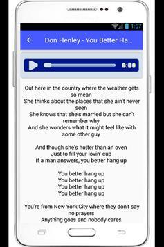 Don Henley Annabel Lyrics poster