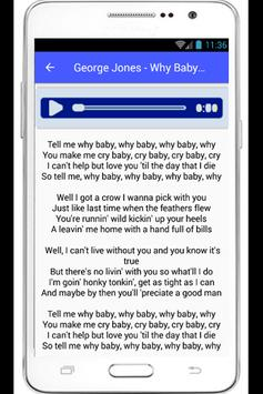 George Jones Lyrics Choices