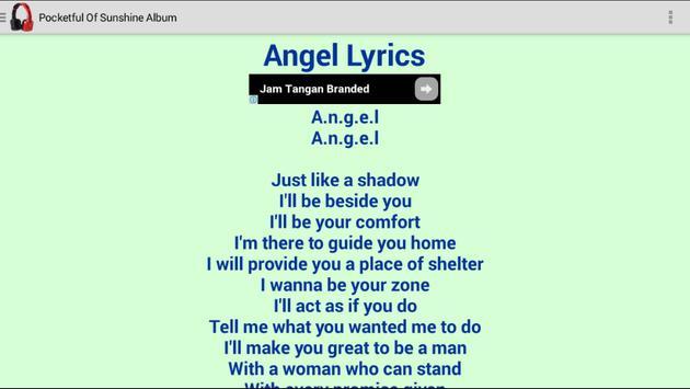 Natasha Bedingfield Lyrics apk screenshot