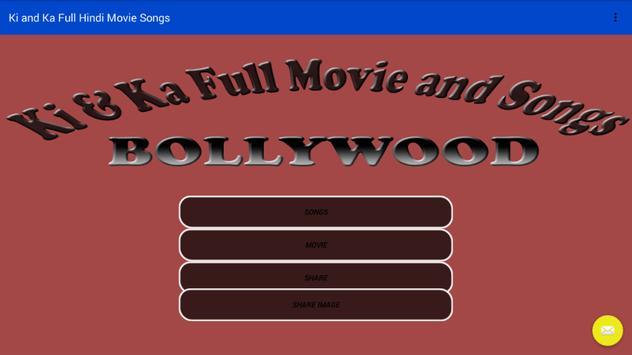 Ki And Ka Full Movie Songs poster