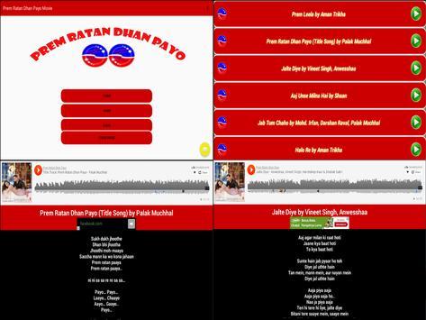 Prem Ratan Dhan Payo Movie apk screenshot