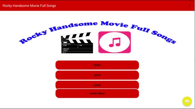 Rocky Handsome Movie Full Song poster