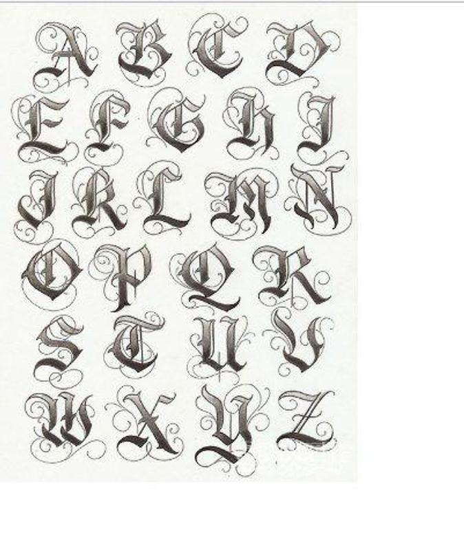 300 Tattoo Lettering Samples for Android - APK Download