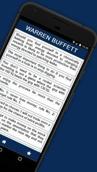 Warren Buffet Quotes apk screenshot