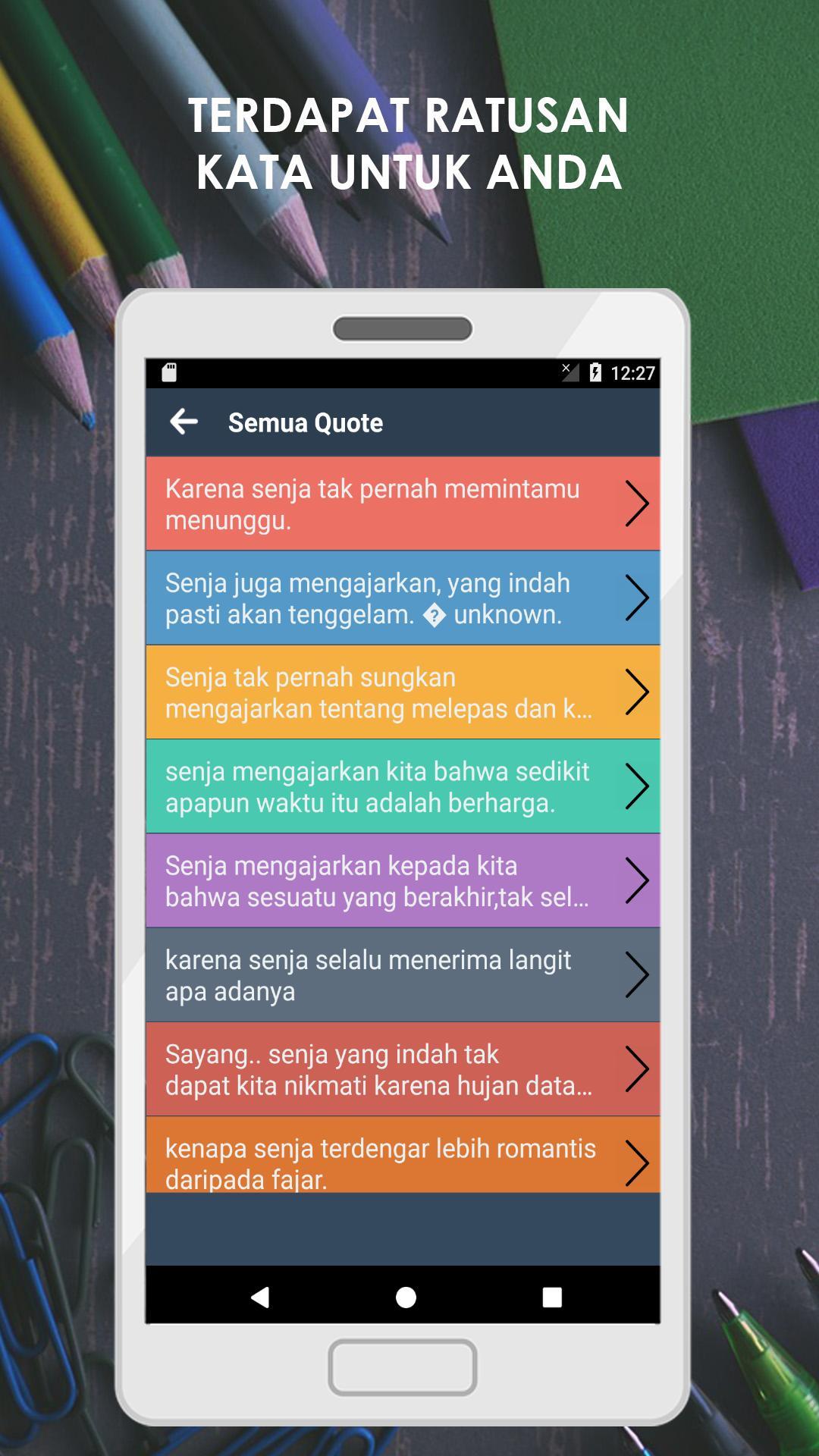 Kata Kata Mutiara Senja Di Sore Hari Für Android Apk