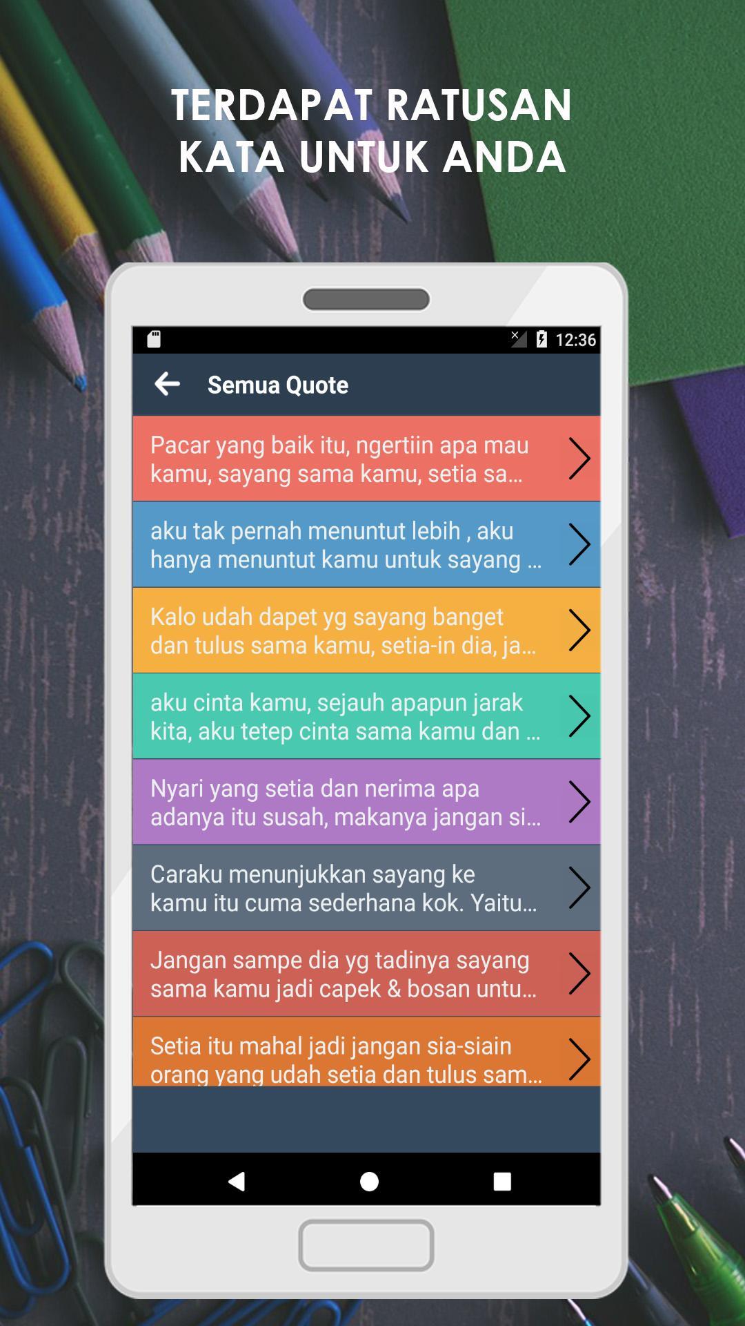 Kata Kata Setia Untuk Pacar Für Android Apk Herunterladen