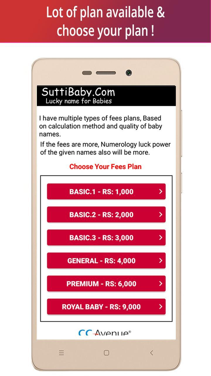 SuttiBaby-Lucky Names for Android - APK Download