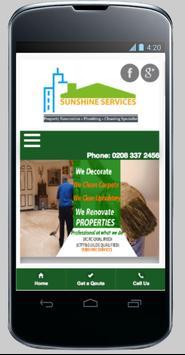 Sunshine Services poster