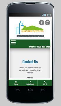 Sunshine Services screenshot 1