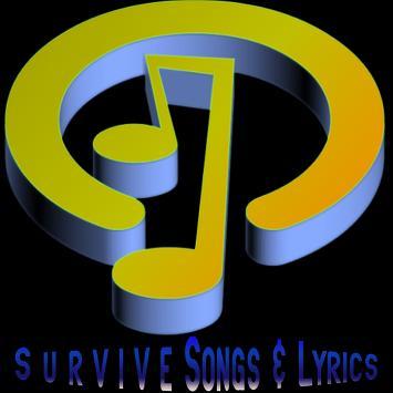 Survive Lyrics Music poster