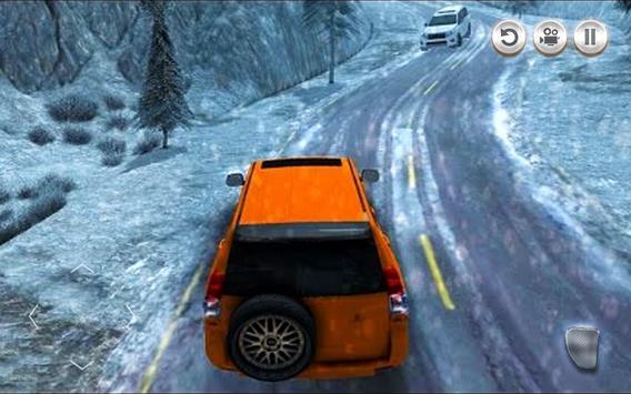 Snow Driving: 4x4  Offroad FJ Cruiser Simulator 3D screenshot 3