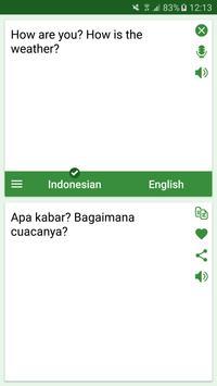 Indonesian - English Translato poster