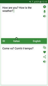 Italian - English Translator poster