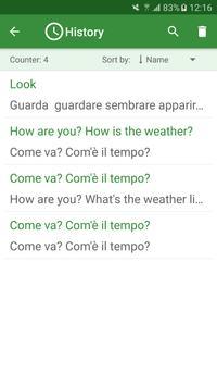 Italian - English Translator apk screenshot