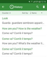 Italian - English Translator screenshot 3
