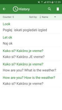 Slovenian - English Translator apk screenshot