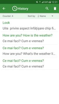 Romanian - English Translator screenshot 3