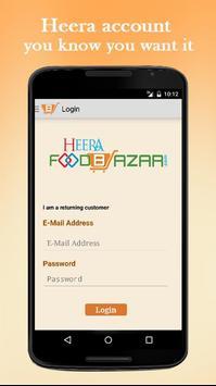 Heera Foodbazar apk screenshot