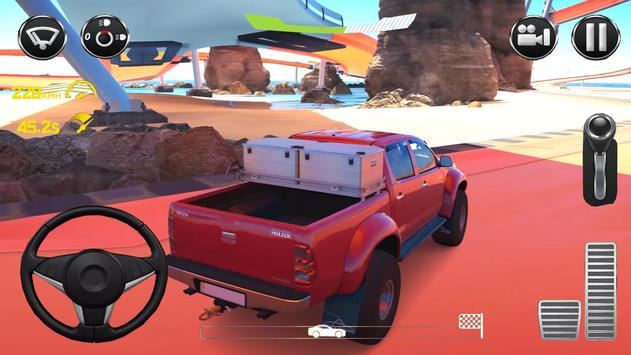 Driving Toyota Suv Simulator 2019 screenshot 2