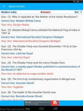 Indian History Quiz AIH MIH MOD 1500 MCQ screenshot 11