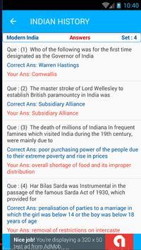Indian History Quiz AIH MIH MOD 1500 MCQ screenshot 3
