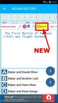 Indian History Quiz AIH MIH MOD 1500 MCQ screenshot 6