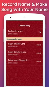 Birthday Songs with Name (Song Maker) apk screenshot