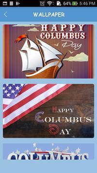 Wallpapers of Columbus Day 2017 screenshot 1