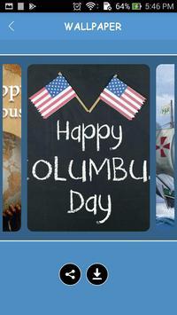 Wallpapers of Columbus Day 2017 screenshot 2