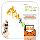 Gandhi Jayanti Greetings 2017 icon