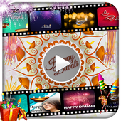 Diwali Video Maker with Music icon