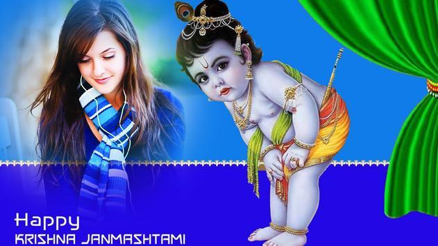 Lord Krishna Photo Frames : Video Status poster