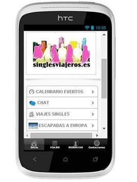 Singles Viajeros apk screenshot