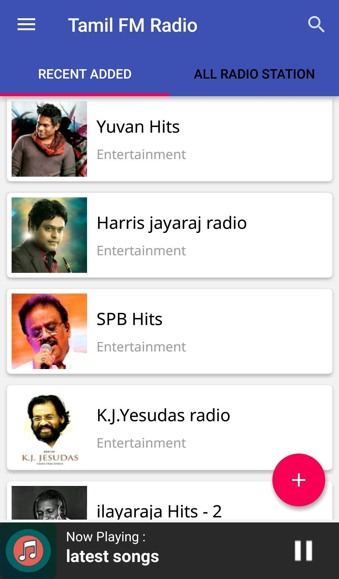 Tamil fm and online radios.