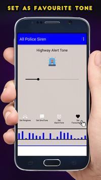 Police Ringtones - Sirens apk screenshot