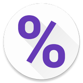 Time in percent icon