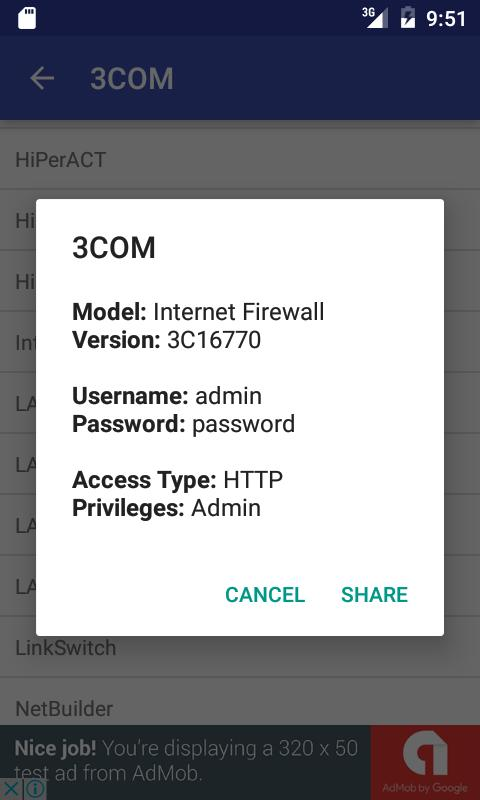 WiFi Router Default Password Finder for Android - APK Download