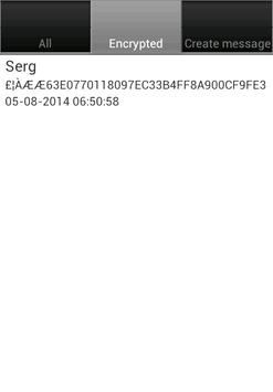 enCryptoSMS apk screenshot