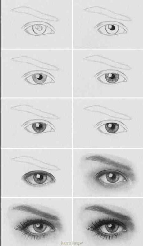 Learn To Draw Eyes For Android Apk Download
