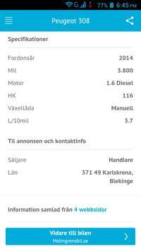 Begagnade Bilar Sverige screenshot 4
