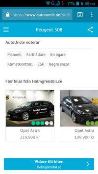 Begagnade Bilar Sverige screenshot 5